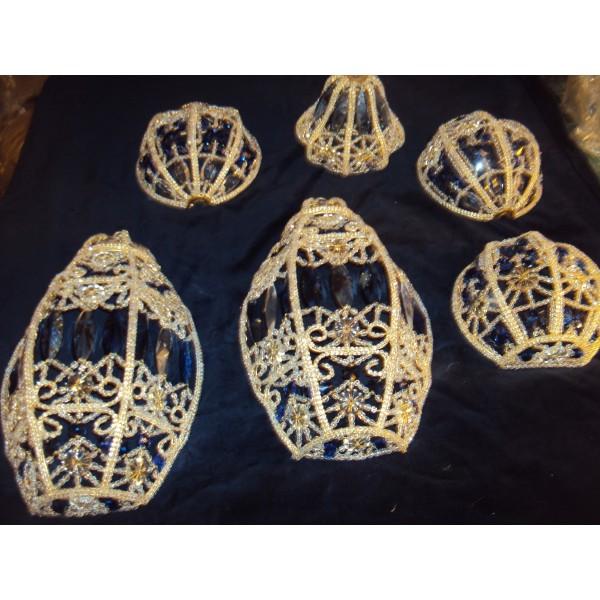 Modelli vari per applique da parete da soffitto per lampadari con ...