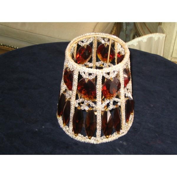 Paralume per lampadari o applique con cristalli di boemia e swarovski ...